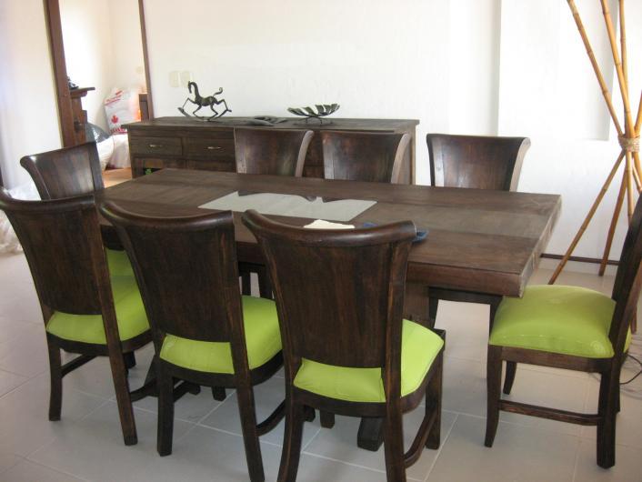 Rusticos el cofrecito arte y tradicion muebles a medida en for Comedores en promocion bogota