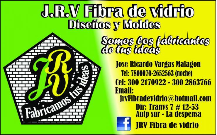 J R V Fibra De Vidrio Dise Os Y Moldes En Bosa Tel Fono Y
